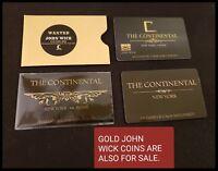 JOHN WICK COSPLAY MOVIE PROP CONTINENTAL HOTEL COMICCON BABA YAGA REEVES NO COIN