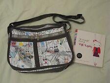 LeSportsac 'Fifi Lapin' Sweethearts Print Crossbody Bag & Book - Rare & HTF