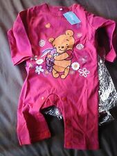 barboteuse pyjama Disney Winnie L'ourson Rose 18 mois à pression