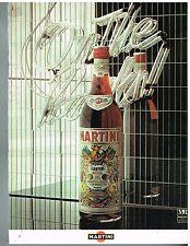 Publicité Advertising 1977 Apéritif Martini