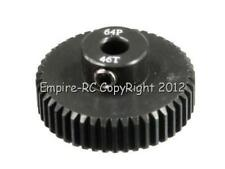 TOPCAD 51746 Light Weight Pinion Gear (46T / 64P) For Tamiya HPI Axial 1/10 Car