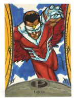 2014 Marvel Premier Falcon Sketch Card Marco D. Carillo Upper Deck UD Base 1/1