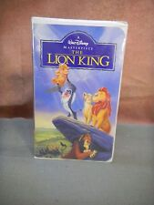 Walt Disney Masterpiece Collection VHS The Lion King