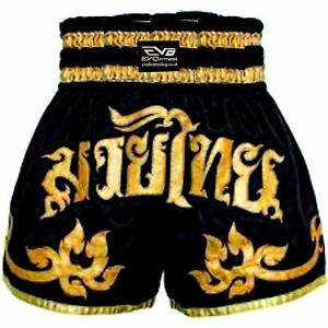 EVO Muay Thai Kick Boxing Cage Fight Shorts MMA Grappling Martial Arts Gear UFC