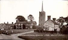 Middleton near Yoxford. The Street & Church # J 4538 in Barham's Series.