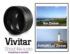 Telephoto Lens Hi Def 2.2x For Sony NEX-F3 NEX F3 NEXF3