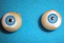 Glasaugen blau antik 16 Schildkröt/ eyes of glass blue 16 for turtle mark