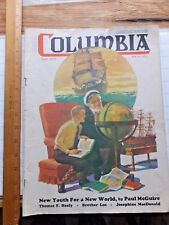 1938 Columbia Catholic Magazine.  Knights of Columbus. Nice Old Sailor Cover
