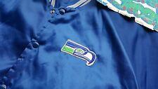 Vintage Chalk Line Seattle Seahawks Snap Up Jacket Large Made In USA Starter OG