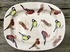 EMMA BRIDGEWATER rare . British Birds . Meat Plate PLATTER . Collectors 2006