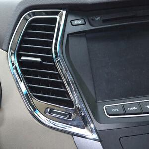 For Hyundai Santa Fe 2013-2017 Interior air vent Molding Cover Trim