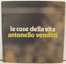 ANTONELLO VENDITTI - LE COSE DELLA VITA - LP RCA DPSL 10612  - 1973