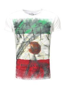 Key Largo Herren Club Trikot T-Shirt ITALIA EM ITALY Team Flagge T00680