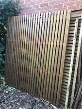 Wooden garden door and fence panels