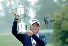 Webb SIMPSON Rare Full Signature SIGNED AUTOGRAPH Golf Photo AFTAL COA