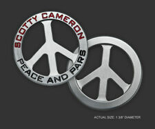 2019 Scotty Cameron Peace & Pars Round Billet Ball Marker Coin Sign