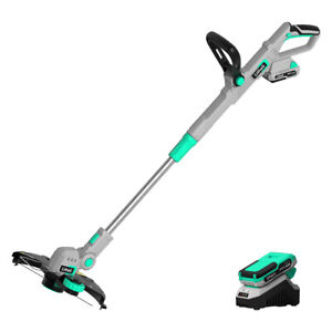 LiTHELi 20V Cordless 2-in-1 String Trimmer  with 2.0Ah Battery and Charger