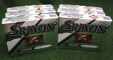 Srixon Z-Star XV 2015 Pure White Golf Balls - 6 Dozen No Logos NEW&IMPROVED