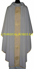 CHASUBLE,VESTMENT,CASEL,CASULLA KASEL-MESSGEWAND