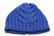 MERONA - CABLE KNIT - ROYAL BLUE - ACRYLIC - ONE SIZE STOCKING CAP BEANIE HAT!