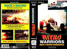 "VHS - "" Nitro WARRIORS - Volume 2 - Rock`n Racing in Bakersfield - DRAGSTERS """