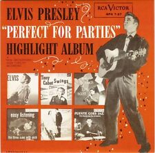 "ELVIS PRESLEY - Perfect For Parties (EP) 7"" 45"
