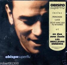 CD audio.../..PÄSCAL .OBISPO.../.....SUPERFLU.....