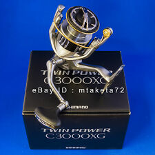 Shimano 15 TWIN POWER C3000XG, Spinning Reel Made In Japan, 033710