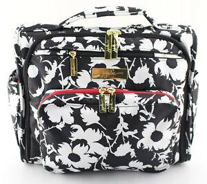 JU JU BE 'B.F.F.' Black / White Imperial Princess Backpack Diaper Bag