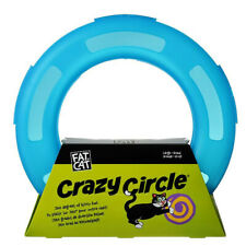 Petmate Crazy Circle Cat Toy Spinning Ball Action Tubular Plastic Track Small