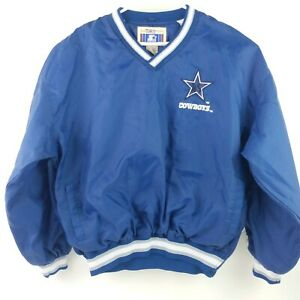 Troy Aikman Dallas Cowboys Starter Pullover Size XL NFL Classic Team Collection