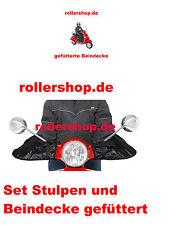 Beinschutz warm und Stulpen im Set für Roller