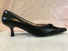 Lisa Vicky, Heels, Black, Size 7, Pointed Toe, Women's Dress Shoes