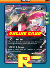 Yveltal Ex - Promo XY150 - for Pokemon TCG Online (DIGITAL ptcgo in Game Card)