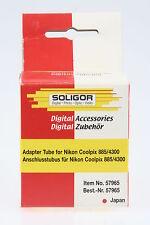 Soligor Anschlusstubus / Adapter Tube für Nikon Coolpix 885/4300 36,5-52mm