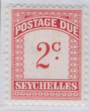 a407) Seychelles. 1951. MNH.  SG D1 to D8. Postage dues