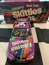 1998 Ernie Irvan Autographed #36 Pontiac Grand Prix Wild Berry Skittles 1/24