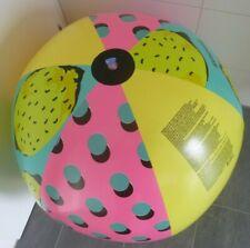Grosser bunter Zitronen WASSERBALL von Bestway, D = 110cm / 44