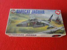 Vintage Rare Plastic Model AIrplane Jet Airfix Sepecat Jaguar