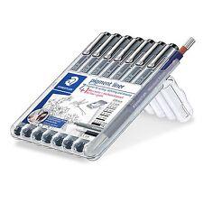 7+1 Pigment Liner Fineliner 308SB8P/0.05+0.2+0.4+0.6+0.8+1.2+0.3-2.0mm+Pencil