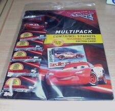 Topps Disney Cars 3 Trading Cards Multipack 5 Packets + 1 Limited Edition
