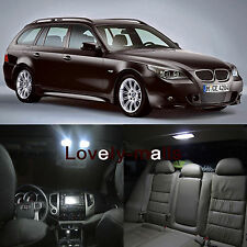 Error Free LED White Interior Package Deal fit for 2004-2010 BMW E61 Touring