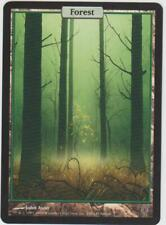►Magic-Style◄ MTG - Forest / Forêt - Unhinged - Textless - Full Art - NM