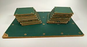 Scale Model Scenery Ground Lawn Diorama Grass Landscape Earth RR Base Green Vtg