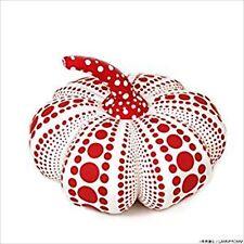 YAYOI KUSAMA Soft Sculpture Pumpkin Mascot Plush S Size Red Rare JAPAN Art JP