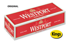 15 Cartons Westport Original King Size Cigarette Filter Tubes Red (3 Sleeves)