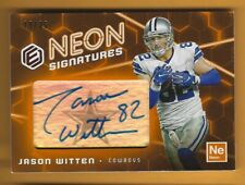 JASON WITTEN 2018 PANINI ELEMENTS NEON SIGNATURES AUTOGRAPH AUTO SP /35