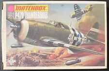 MATCHBOX PK-22 - P47D THUNDERBOLT - 1:72 - Flugzeug Modellbausatz - KIT