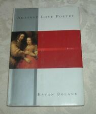 2001 Eavan Boland AGAINST LOVE POETRY Poems Marriage  REMBRANDT The Jewish Bride