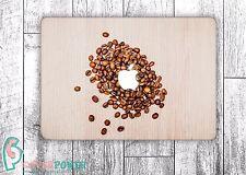 Coffee MacBook Cover Sticker Coffee Beans Vinyl Macbook Pro Laptop Skin MB240